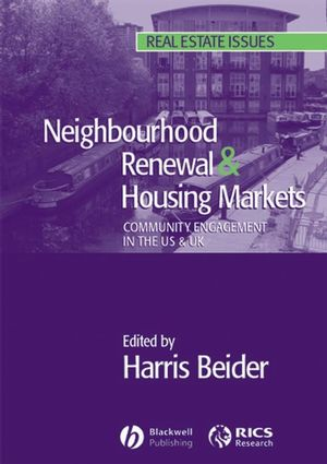 Neighbourhood Renewal and Housing Markets: Community Engagement in the US and the UK (047075785X) cover image