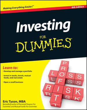 Investing For Dummies, 6th Edition (047090545X) cover image