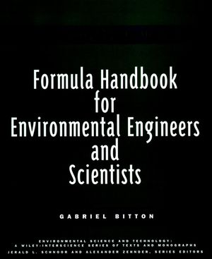 Formula Handbook for Environmental Engineers and Scientists