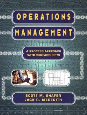 Operations Management: A Process Approach with Spreadsheets (047116545X) cover image