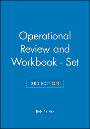 Operational Review 3E and Workbook - Set (047125035X) cover image
