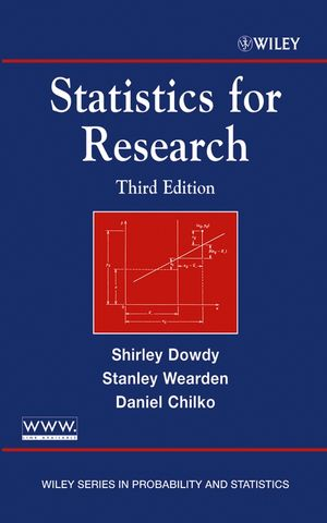 Statistics for Research, 3rd Edition (047126735X) cover image