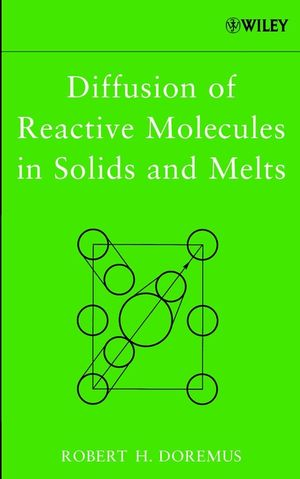 Diffusion of Reactive Molecules in Solids and Melts