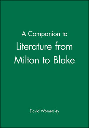 A Companion to Literature from Milton to Blake