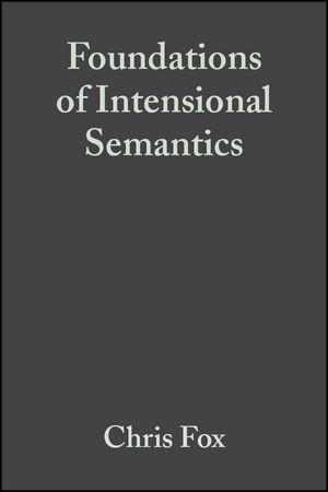 Foundations of Intensional Semantics (063123375X) cover image
