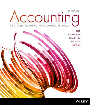 Accounting: A Business Planning And Control Approach 1E Ia Wiley E-Text Powered By VitalSource