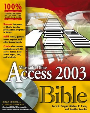 Access 2003 Bible (076455705X) cover image