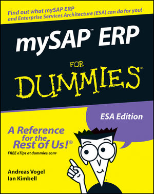 mySAP ERP For Dummies (076459995X) cover image