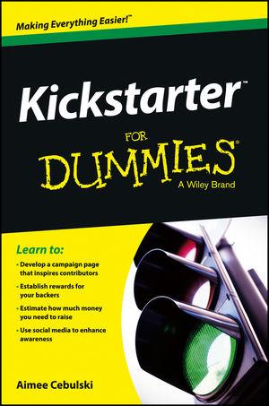 Kickstarter For Dummies (111850545X) cover image