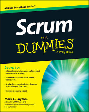 Scrum For Dummies (111890575X) cover image