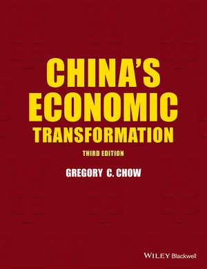 China's Economic Transformation, 3rd Edition