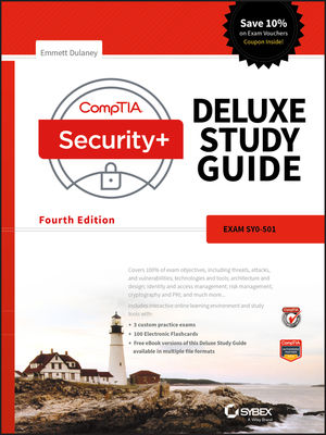 CompTIA Security+ Deluxe Study Guide: SY0-501 (111941685X) cover image