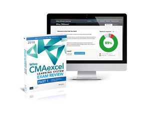 Wiley CMAexcel Learning System Exam Review 2018: Part 1, Financial Planning, Performance and Control Set (1-year access)
