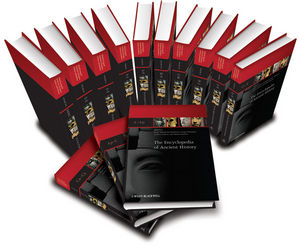 The Encyclopedia of Ancient History, 13 Volume Set (140517935X) cover image