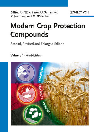 Modern Crop Protection Compounds, Second, Revised and Enlarged Edition, 3 Volume Set (352732965X) cover image