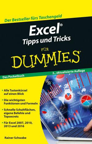 Excel Tipps und Tricks für Dummies, 2. Auflage