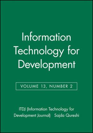 Information Technology for Development, Volume 13, Number 2