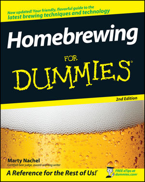 Homebrewing For Dummies, 2nd Edition (0470374160) cover image