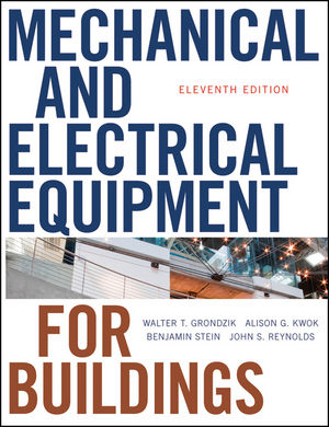 Mechanical and Electrical Equipment for Buildings, 11th Edition (0470621060) cover image