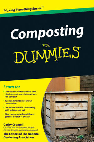 Composting For Dummies (0470631260) cover image