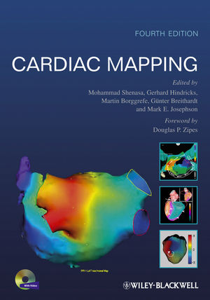 Cardiac Mapping, 4th Edition (0470670460) cover image