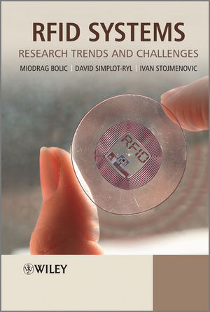 RFID Systems: Research Trends and Challenges (0470975660) cover image
