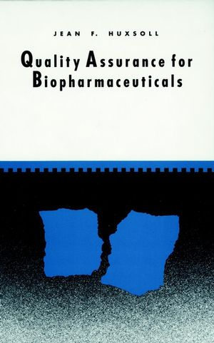 Quality Assurance for Biopharmaceuticals (0471036560) cover image