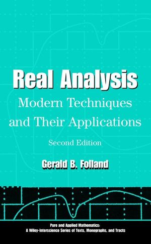 Real Analysis: Modern Techniques and Their Applications, 2nd Edition (0471317160) cover image