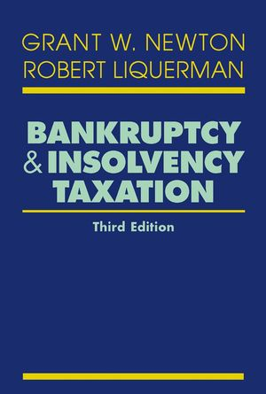 Bankruptcy and Insolvency Taxation, 3rd Edition (0471656860) cover image
