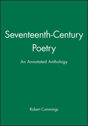 Seventeenth-Century Poetry: An Annotated Anthology (0631210660) cover image