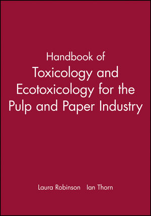 Handbook of Toxicology and Ecotoxicology for the Pulp and Paper Industry (0632054360) cover image