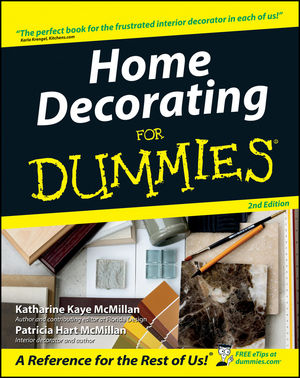 wiley home decorating for dummies 2nd edition