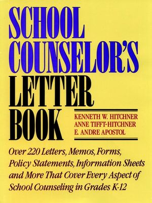 School Counselor's Letter Book