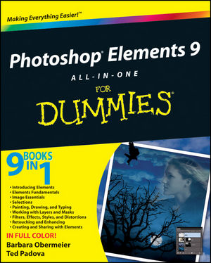 Photoshop Elements 9 All-in-One For Dummies (1118005260) cover image