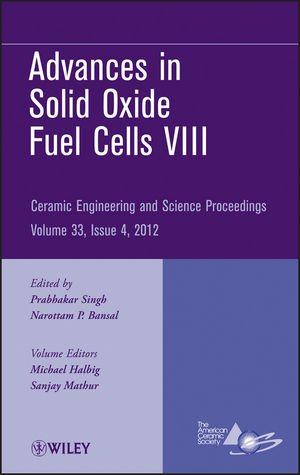 Advances in Solid Oxide Fuel Cells VIII, Volume 33, Issue 4 (1118530160) cover image