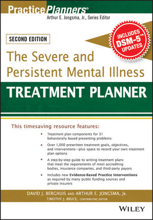 The Severe and Persistent Mental Illness Treatment Planner, 2nd Edition (1119064260) cover image