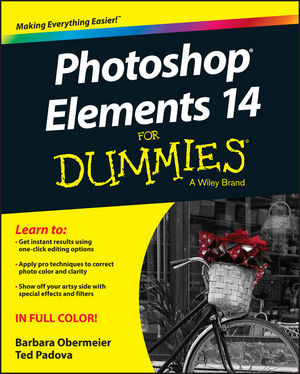 Photoshop Elements 14 For Dummies (1119131960) cover image