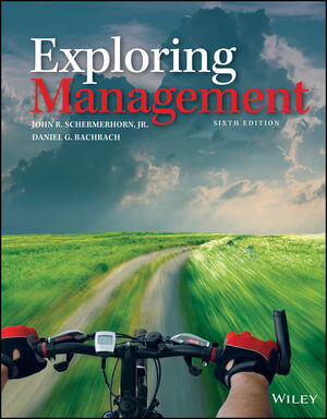 Exploring Management, 6th Edition (1119395860) cover image