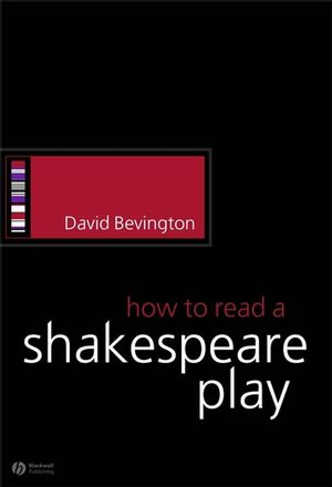 How to Read a Shakespeare Play (1405113960) cover image