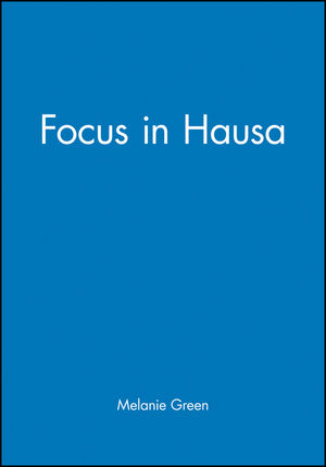 Focus in Hausa (1405156260) cover image