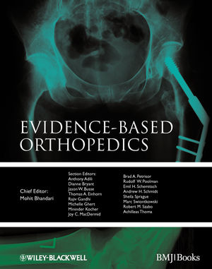 Evidence-based Orthopedics (1405184760) cover image