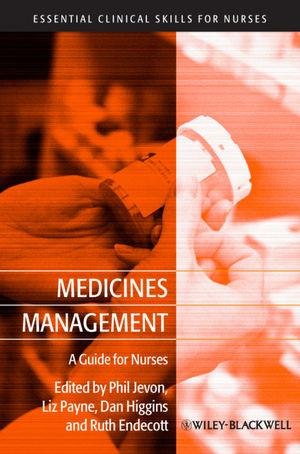 Medicines Management: A Guide for Nurses (1444319760) cover image