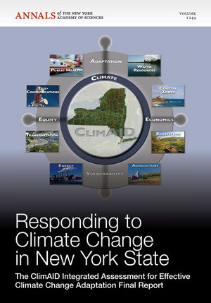 Responding to Climate Change in New York State: The ClimAID Integrated Assessment for Effective Climate Change Adaptation Final Report, Volume 1244
