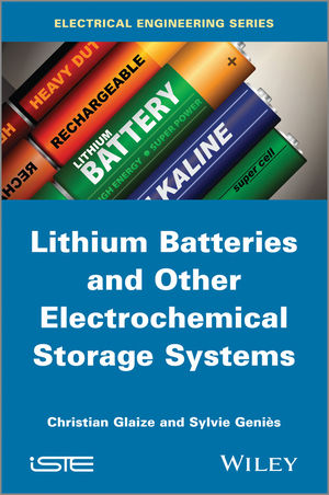 Lithium Batteries and other Electrochemical Storage Systems (1848214960) cover image