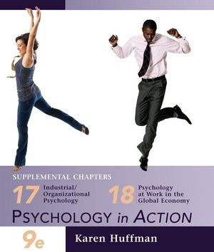 Chapters 17 and 18 of Psychology in Action, 9th Edition (EHEP001860) cover image