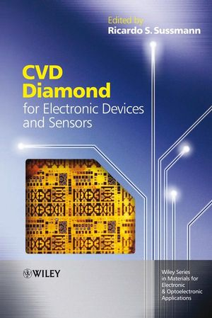 CVD Diamond for Electronic Devices and Sensors (0470740361) cover image