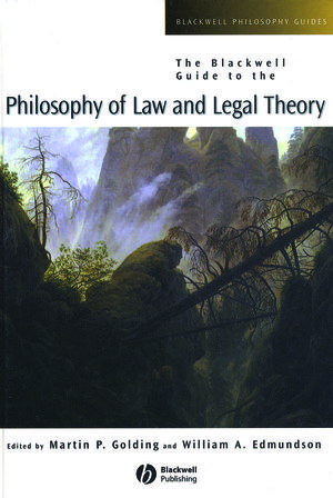 The Blackwell Guide to the Philosophy of Law and Legal Theory (0470779861) cover image
