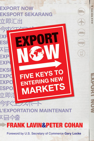 Export Now: Five Keys to Entering New Markets (0470828161) cover image