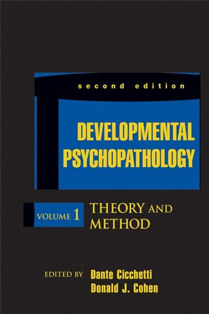 Developmental Psychopathology, Volume 1, Theory and Method, 2nd Edition (0471237361) cover image