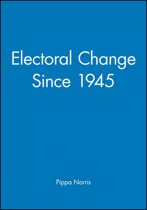 Electoral Change Since 1945 (0631167161) cover image